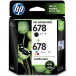 HP Original 678 Combo Black & Colour Ink Cartridge